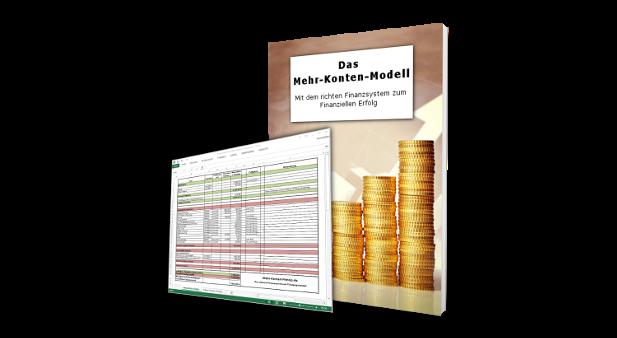 Das Mehr-Konten-Modell E-Book mit Excel Tool